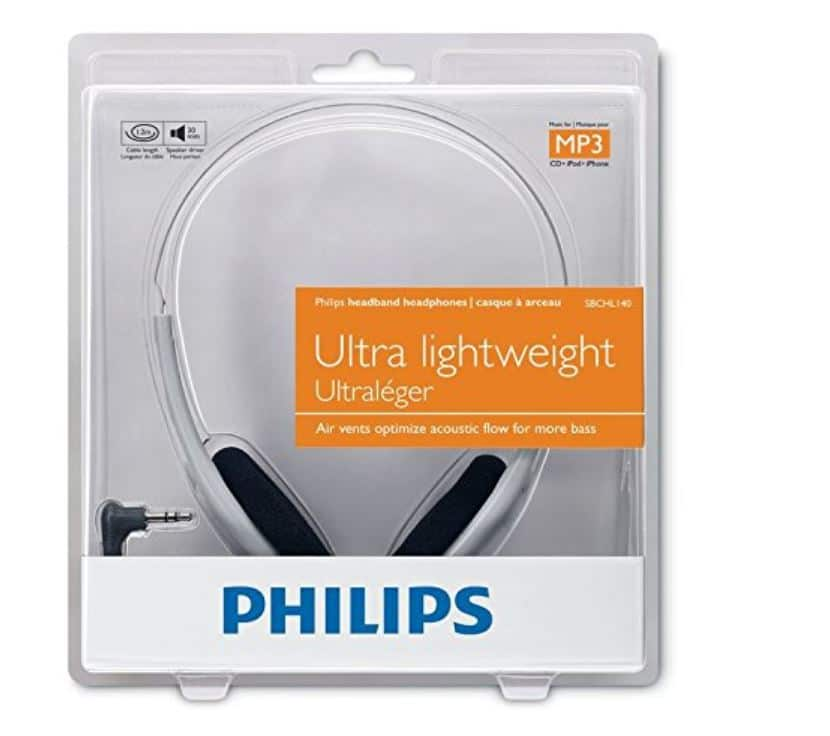 6515d34a9ff Philips On-Ear Headphones Without Mic (Grey) SBCHL140/10