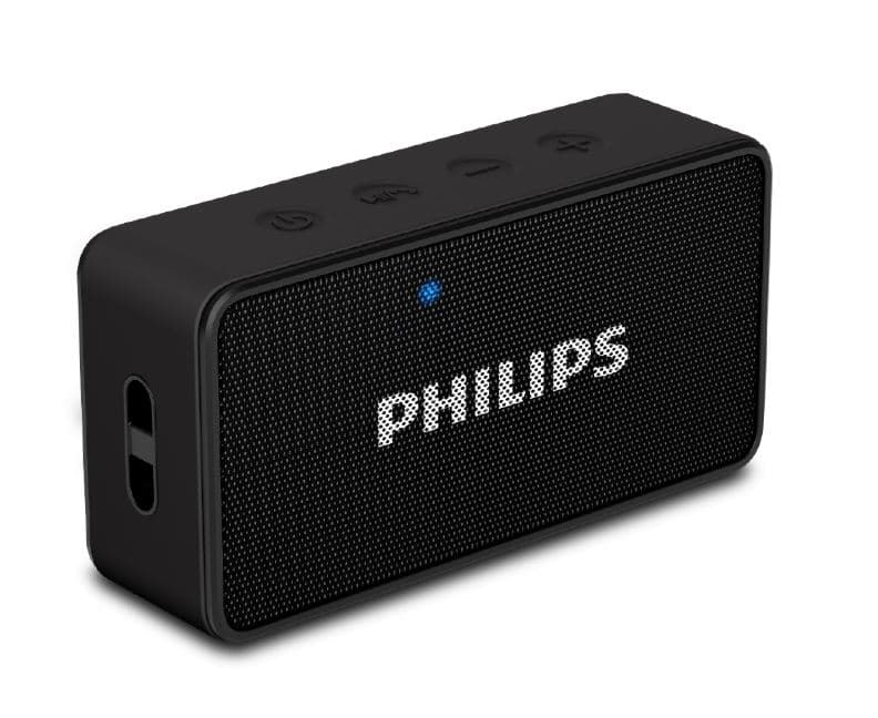 Philips BT8B Bluetooth Speaker with Fm and Mic (Black)
